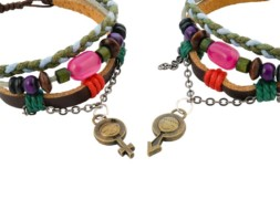 Tibetaanse leren armbanden voor lovers