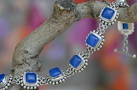 Zilveren armband met agaat
