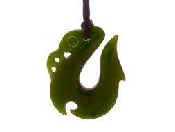 Jade maori manaia hanger uit Nieuw Zeeland