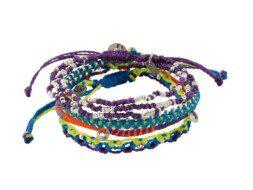 Set van vier planeten armbanden uit Guatemala