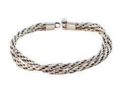 Tibetaanse zilveren schakelarmband