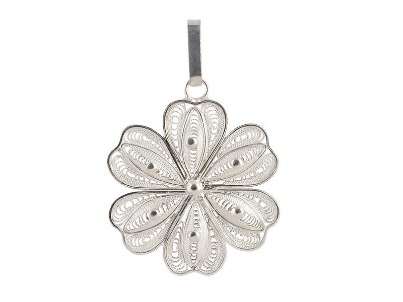 Zilveren filigrain hanger uit Peru