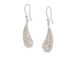 Zilveren filigrain oorbellen uit Peru