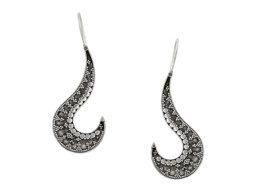 Balinese handgemaakte zilveren oorbellen