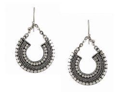 Balinese zilveren oorringen